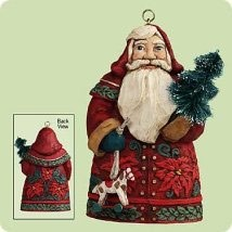 2004 Santas From Around the World Germany Hallmark Keepsake Ornament 1295QP1704