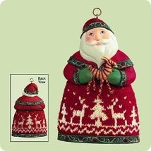 2004 Santas From Around the World Norway  Hallmark Keepsake Ornament 1295QP1711
