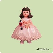 2004 Madame Alexander 9th-Dancing Clara Hallmark Keepsake Ornament 1495QX8111