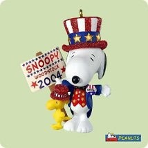 2004 Spotlight On Snoopy 7th The Winning Ticket Hallmark Keepsake Ornament 995QX8371