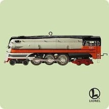2004 Lionel Trains 9th 1939 Hiawatha Steam Locomotive Hallmark Keepsake Ornament 1895QX8454