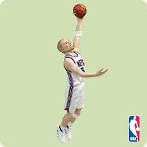 2004 Hoop Stars 10th-Jason Kidd Hallmark Keepsake Ornament 1495QX8531