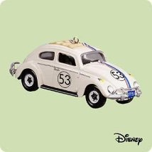 2004 Amazing Number 53 Herbie Hallmark Keepsake Ornament 1495QXD5071