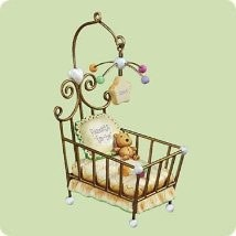 2004 Parents To Be Crib Hallmark Keepsake Ornament 1295QXG5734