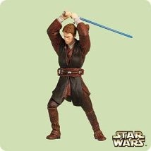 2004 Star Wars Anakin Skywalker  Hallmark Keepsake Ornament 1495QXI4071-2