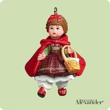 2004 Madame Alexander Red Riding Hood *Miniature Hallmark Keepsake Ornament 795QXM5201