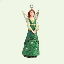 2005 Angels - Esmeralda     Hallmark Keepsake Ornament 1295QP181-2