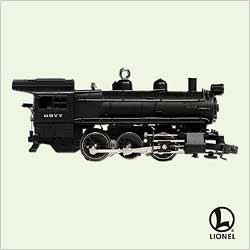 2005 Lionel Trains 10th Pennsylvania B6 Steam Locomotive Hallmark Keepsake Ornament 1295QX205-2