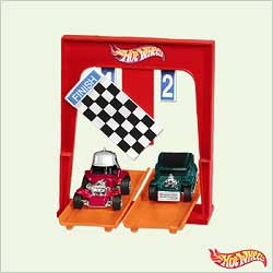 2005 Hot Wheels - And The Winner Is.....    Hallmark Keepsake Ornament 1495QXI619-5