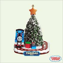 2005 Thomas The Tank - 60 Years     Hallmark Keepsake Ornament 1295QXI623-5