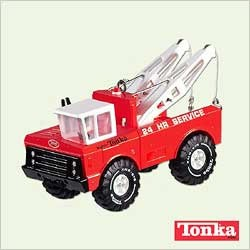 2005 Tonka - Wrecker  Hallmark Keepsake Ornament 1495QXI625-5
