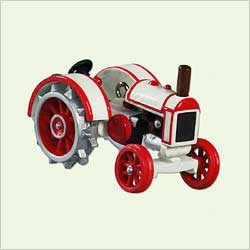 2005 Antique Tractors 9th *Miniature  Hallmark Keepsake Ornament 695QXM8992