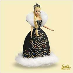 2006 Barbie Celebration Barbie 7th (SDB) Hallmark Keepsake Ornament 1600QX239-3
