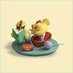 2006 Parents-To-Be - Chickens (SDB) Hallmark Keepsake Ornament 1000QXG285-3