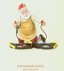 2007 Toymaker Santa 8th *Event Gift *Signed by Ken Crow Hallmark Keepsake Ornament QX7057-2-2