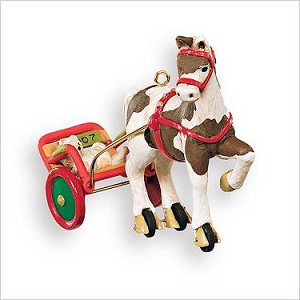2007 A Pony for Christmas 10th Hallmark Keepsake Ornament QX7059