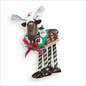 2007 Chocolate Moose  Hallmark Keepsake Ornament QXG7017