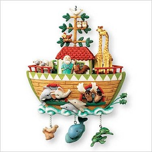 2007 Noah's Ark Hallmark Keepsake Ornament QXG7069