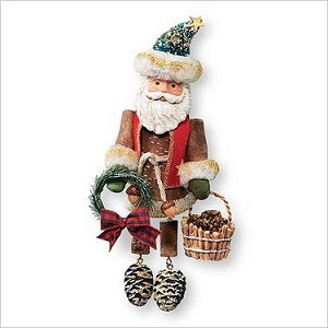 2007 Woodland Santa  Hallmark Keepsake Ornament QXG7109
