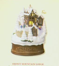 2007 Snowy Mountain Lodge *Magic (SDB) Hallmark Keepsake Ornament QXG7567-2