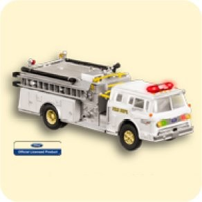 2007 Fire Brigade 1988 Ford C8000 Event Colorway *Magic Hallmark Keepsake Ornament 2007Ltd5