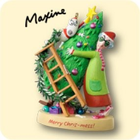 2007 Maxine's Merry Chris-Mess Event Ornament Hallmark Keepsake Ornament 2007Ltd8