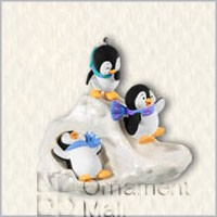 2008 Slippin' and Slidin' Penguins Ltd. Qty. (SDB) Hallmark Keepsake Ornament QXE9064-2