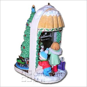 2008 Little Window Shoppers Event Piece Ltd. Qty.  Hallmark Keepsake Ornament 2008ArtistEvent