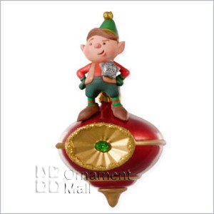 2008 Peek-Buster Elf *Magic Hallmark Keepsake Ornament QHF3024