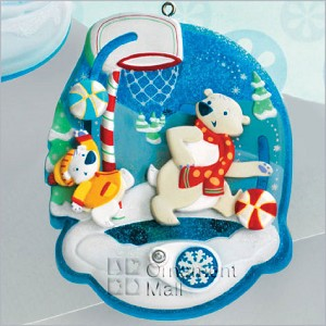 2008 Spin-a-Majigs Hoopy Holidays Hallmark Keepsake Ornament QP1131