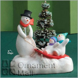2008 It's the Most Wonderful Time of the Year *Magic Hallmark Keepsake Ornament QSR8054
