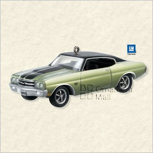 2008 Classic American Cars 18th 1970 Chevrolet Chevelle SS Hallmark Keepsake Ornament QX2881