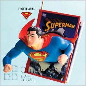 2008 Comic Book Heroes 1st Superman Hallmark Keepsake Ornament QX4154