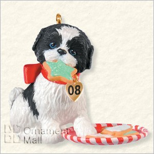 2008 Puppy Love 18th Hallmark Keepsake Ornament QX6854-2