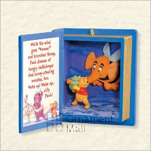 2008 Winnie the Pooh Book 11th Heffalumps and Woozles Hallmark Keepsake Ornament QXD4084