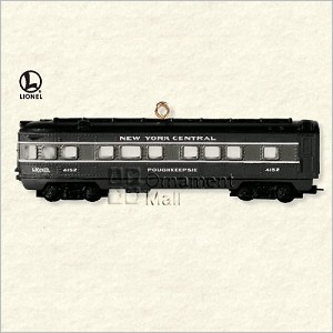 2008 Lionel Trains New York Central Observation Car Hallmark Keepsake Ornament QXI2011