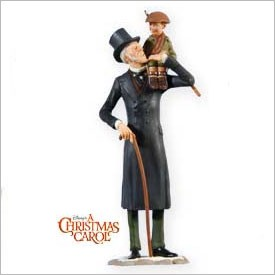 2009 Christmas Carol Ebenezer Scrooge and Tiny Tim Ltd. Qty ...