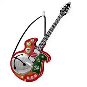 2009 jingle bell rock guitar magic hallmark keepsake ornament qsr4575