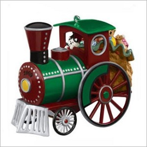 2009 Toyland Express Colorway *Event Hallmark Keepsake Ornament QXC7234A