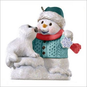 2009 Snow Buddies 12th Colorway *Event ARTIST SIGNED Hallmark Keepsake Ornament QXC8095