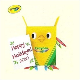 2010 Crayola Owliday Greetings Hallmark Keepsake Ornament LPR3416