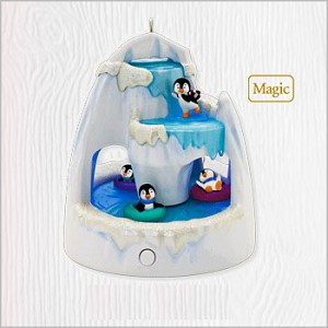 2010 Frosty Falls Penguins *Magic (VSDB) Hallmark Keepsake Ornament QXG7716-2