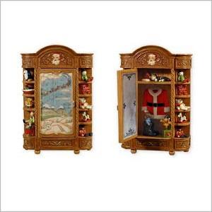2010 Santa's Armoire In-Store Signing Event Piece Hallmark Keepsake Ornament 2010Armoire