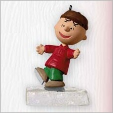 2010 Peanuts on Ice Charlie Brown (VSDB) Hallmark Keepsake Ornament 2010Peanuts4