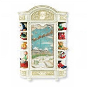 2011 Santa's Armoire Repaint of 2010 In-store Signing Ornament *Club (DB) Hallmark Keepsake Ornament ClubExclusive2-2