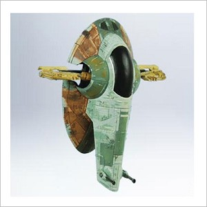 2011 Star Wars Slave 1 *Magic Hallmark Keepsake Ornament QXI2067