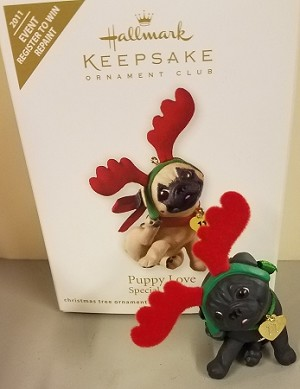 2011 Puppy Love KOC Event *Colorway/Repaint *RARE *Signed Hallmark Keepsake Ornament Hallmark Event Prize-Kitten-2