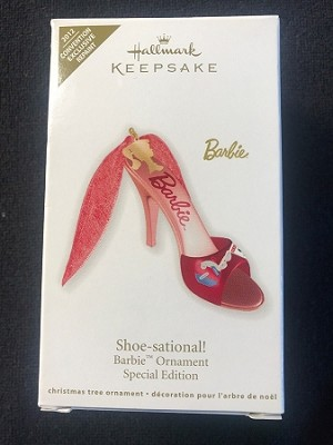 2012 Barbie Shoe-sational! *Event Exclusive Barbie Convention Hallmark Keepsake Ornament 2011barbieshoeconv