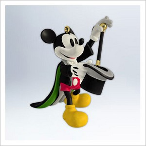 2012 Mickey's Movie Mousterpieces 1st Magician Mickey Hallmark Keepsake Ornament qx8294