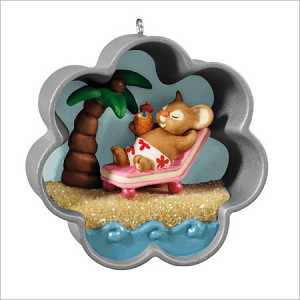 2013 Cookie Cutter Christmas A Tropical Holiday *Event Hallmark Keepsake Ornament 2013Event3